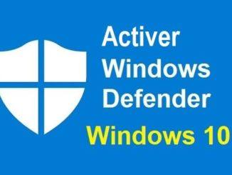 Comment activer Windows Defender et protéger son ordinateur des logiciels malveillants?