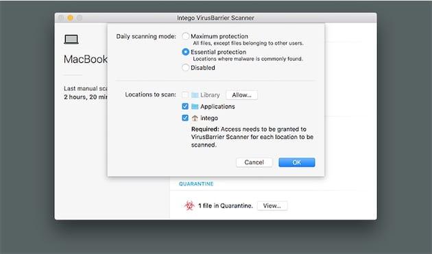 Pourquoi installer Intego sur son Mac ?